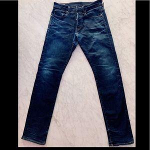 G-Star 3301 men's slim jeans slim dark blue